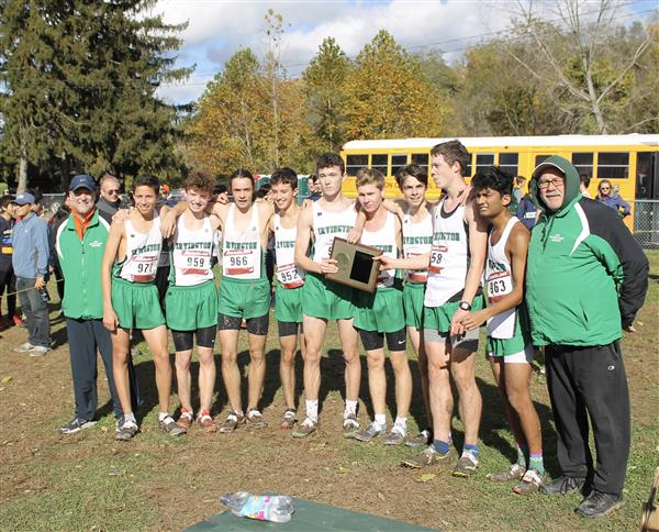 Boys Cross-Country Wins Sectional Title