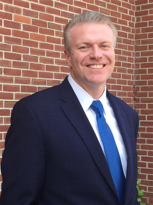 Photo of the Superintendent, Dr. Kristopher Harrison