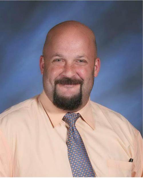 Photo of Matt Samuelson, Assistant Principal of the High School