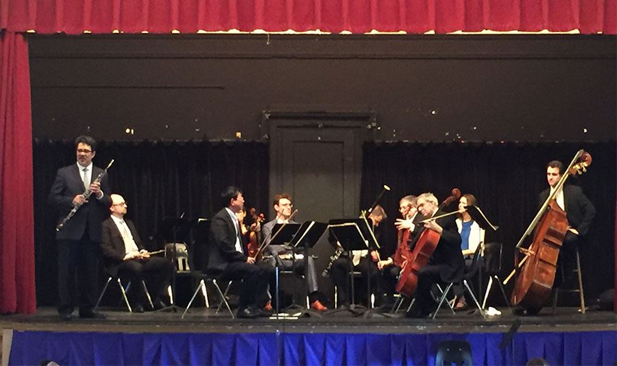 Metropolitan Opera Orchestra Performs for MSS Students