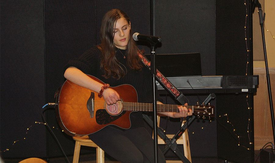 High School Students Celebrate Talents at Open Mic Night