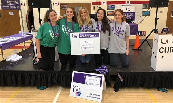 IHS Students Raise $1,379 for American Cancer Society