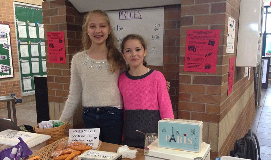 Middle School Students Raise Money for Charities