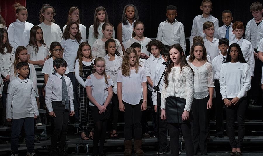 Chorus Students Delight Audience at Winter Concert