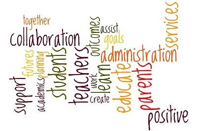 Word Cluster describing Pupil Personnel Services